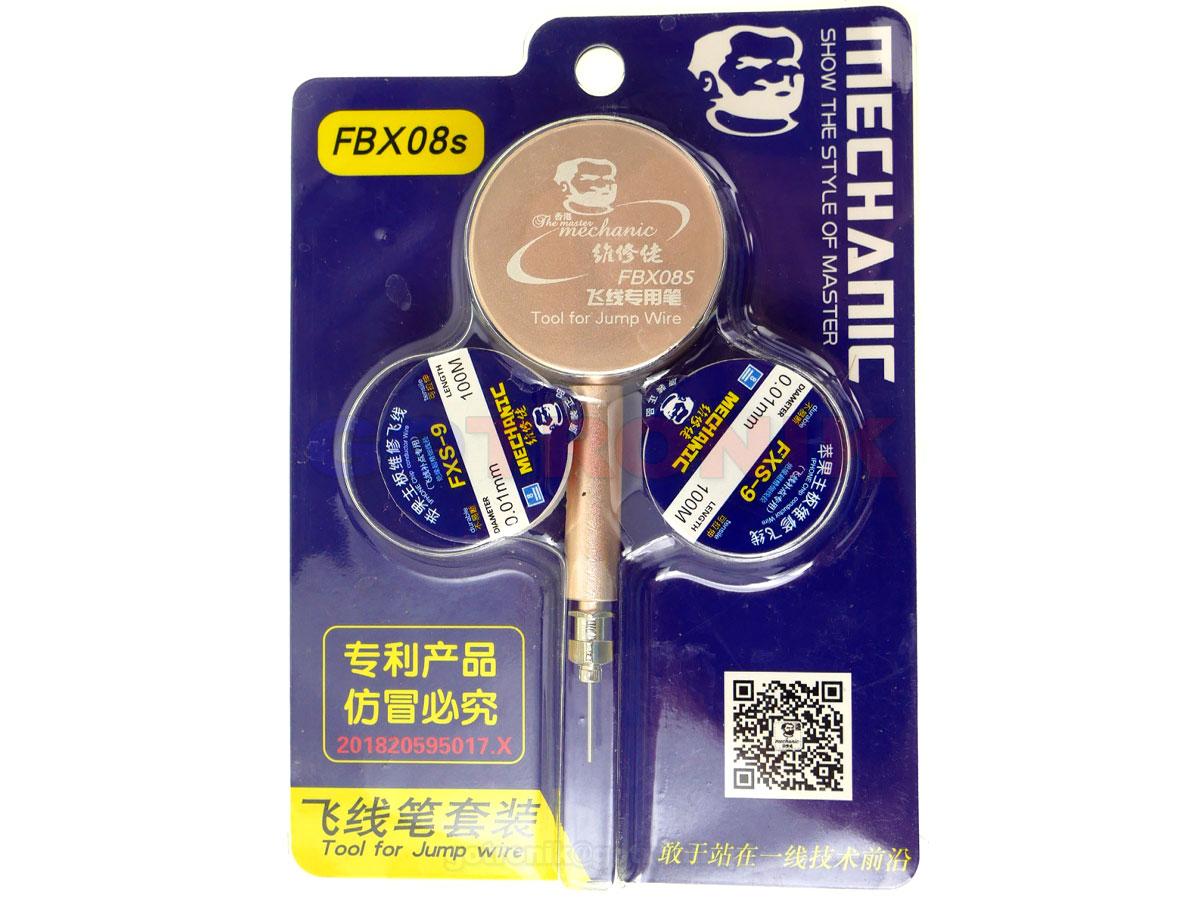 Dyspenser FBX08S drutu do naprawy ścieżek + drut FXS-9 RBS007 RBS-007