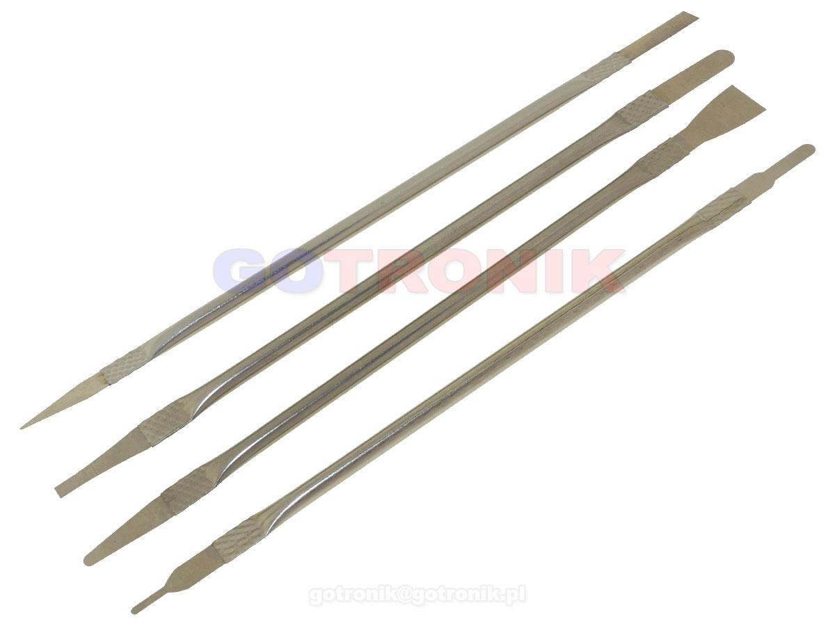 Łopatki, szpatułki, skrobaki do pasty IC BGA zestaw 5 szt. RBS-057 RBS057