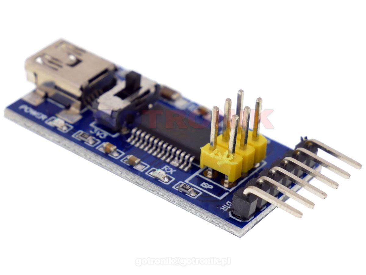 Konwerter mini USB na UART FT232RL FTDI RBS060 RBS-060