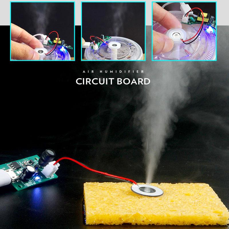 Membrana piezoelektryczna + generator mini nawilżacz atomizer USB RBS067 RBS-067