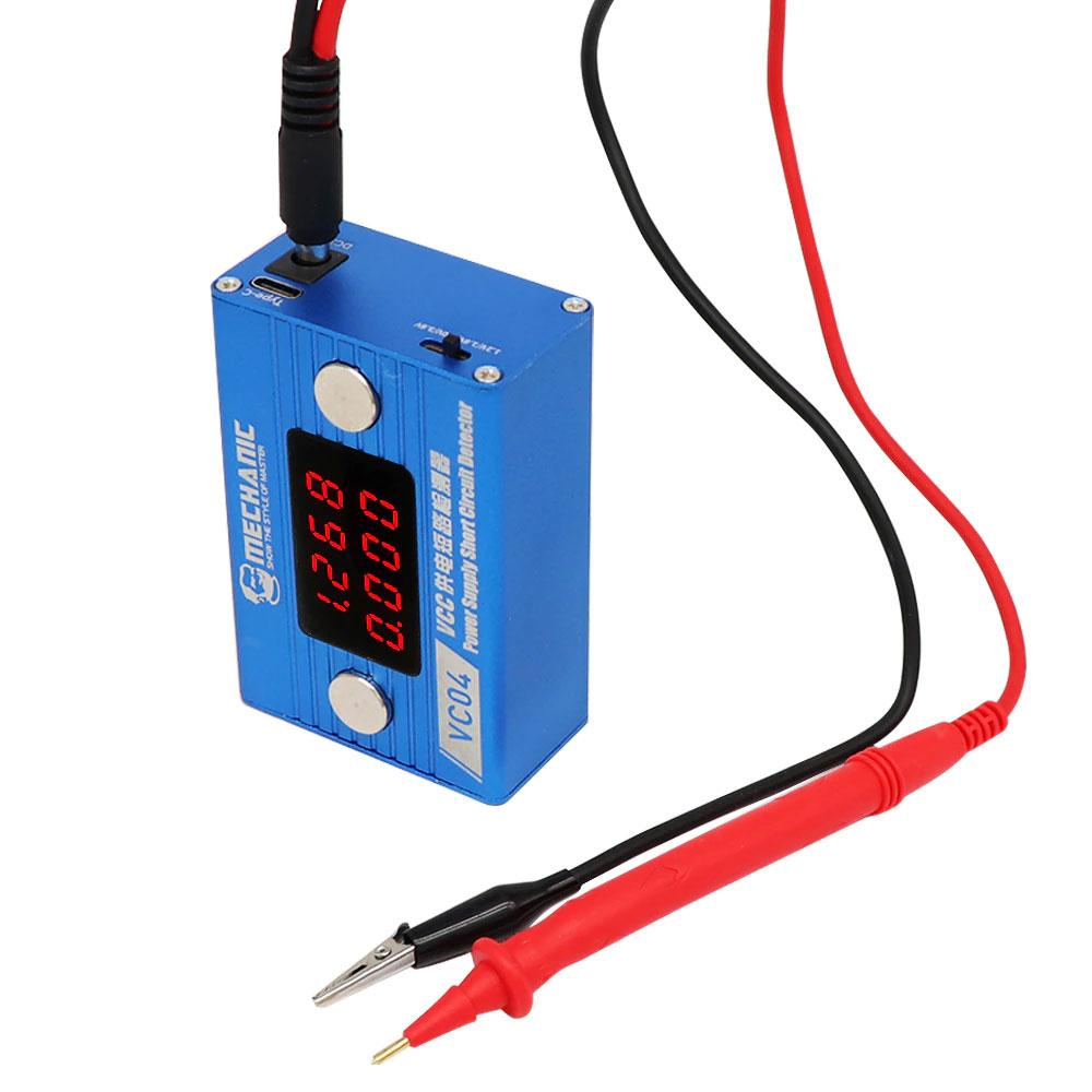 Detektor zwarć na płytach głównych Mechanic Short Circuit Detector VC04