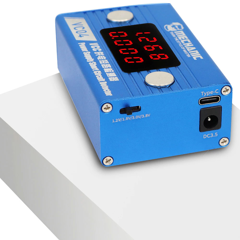 Detektor zwarć na płytach głównych Mechanic Short Circuit Detector VC04 RBS068 RBS-068