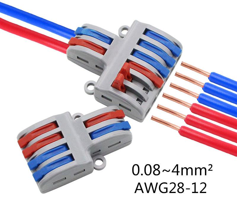 SPL-62 szybkozłącze kostka elektryczna rozgałęźnik zasilania SPL62