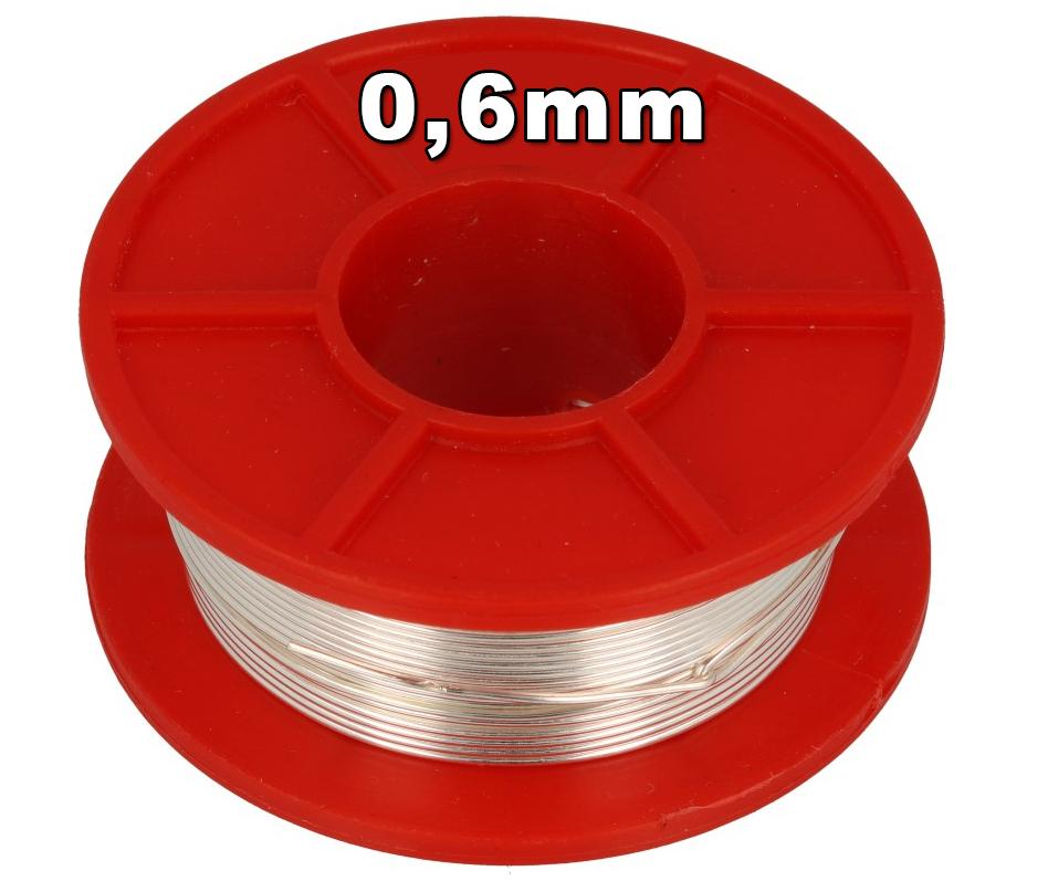 Drut miedziany srebrzony w stanie miękkim (DSM) Cu+Ag