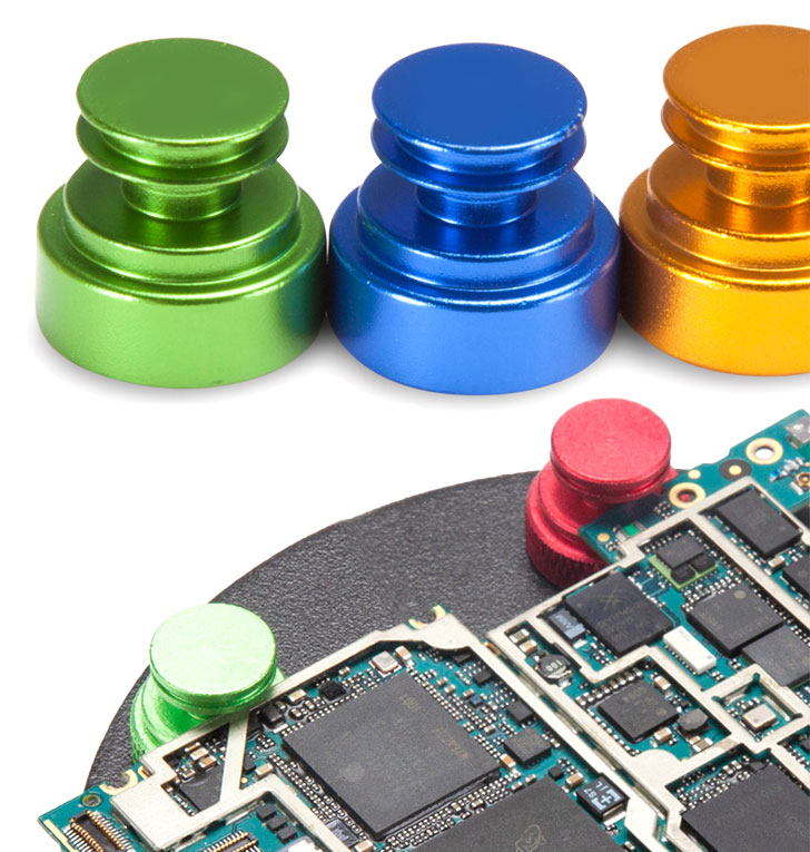 TE-075 Uchwyt montażowy magnetyczny do PCB