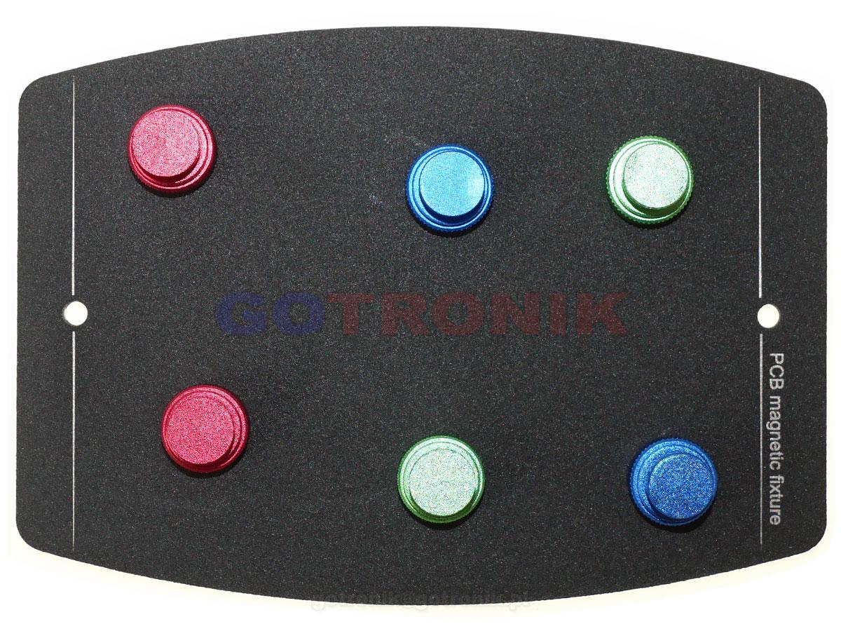 TE-076 Uchwyt montażowy magnetyczny do PCB