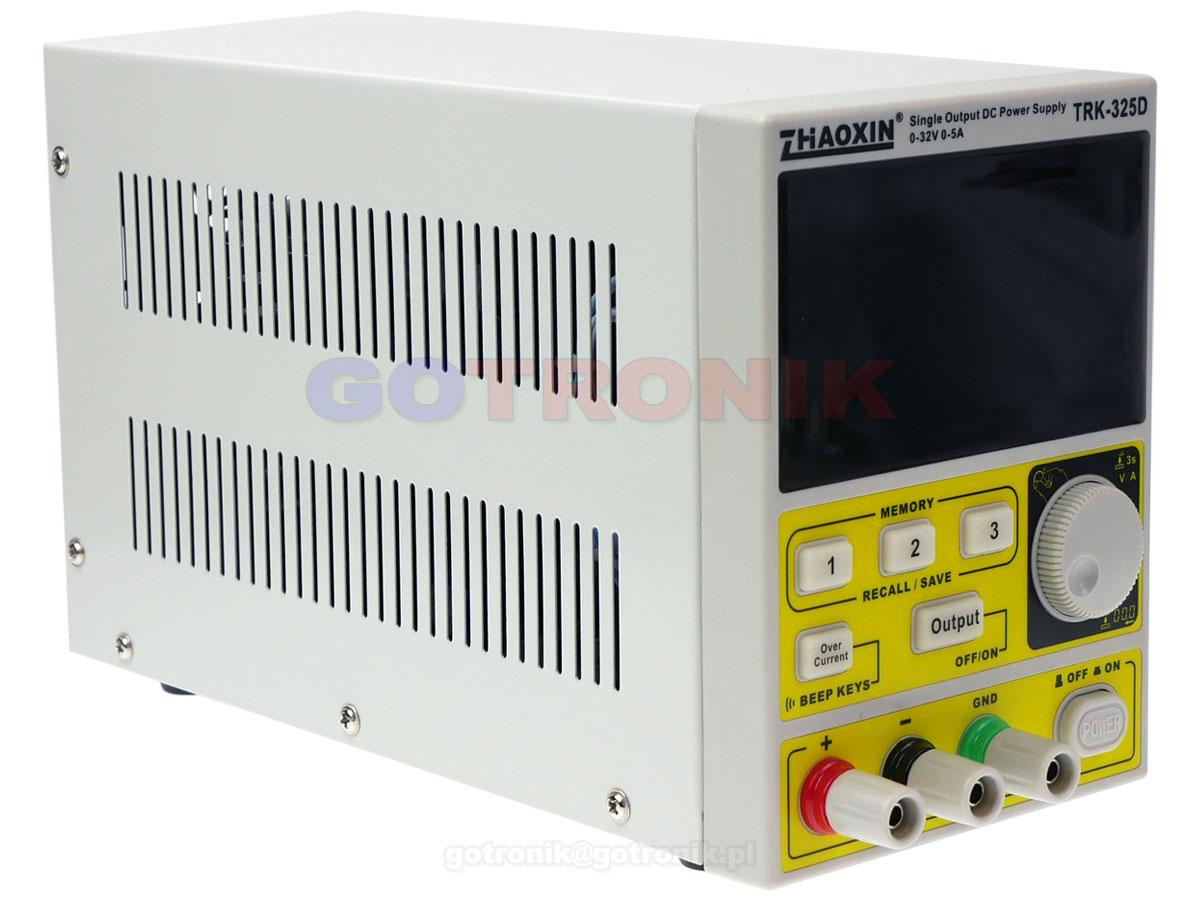 TRK-486D Zhaoxin zasilacz laboratoryjny 48V 6A 288W regulowany Zaoxin TRK486D