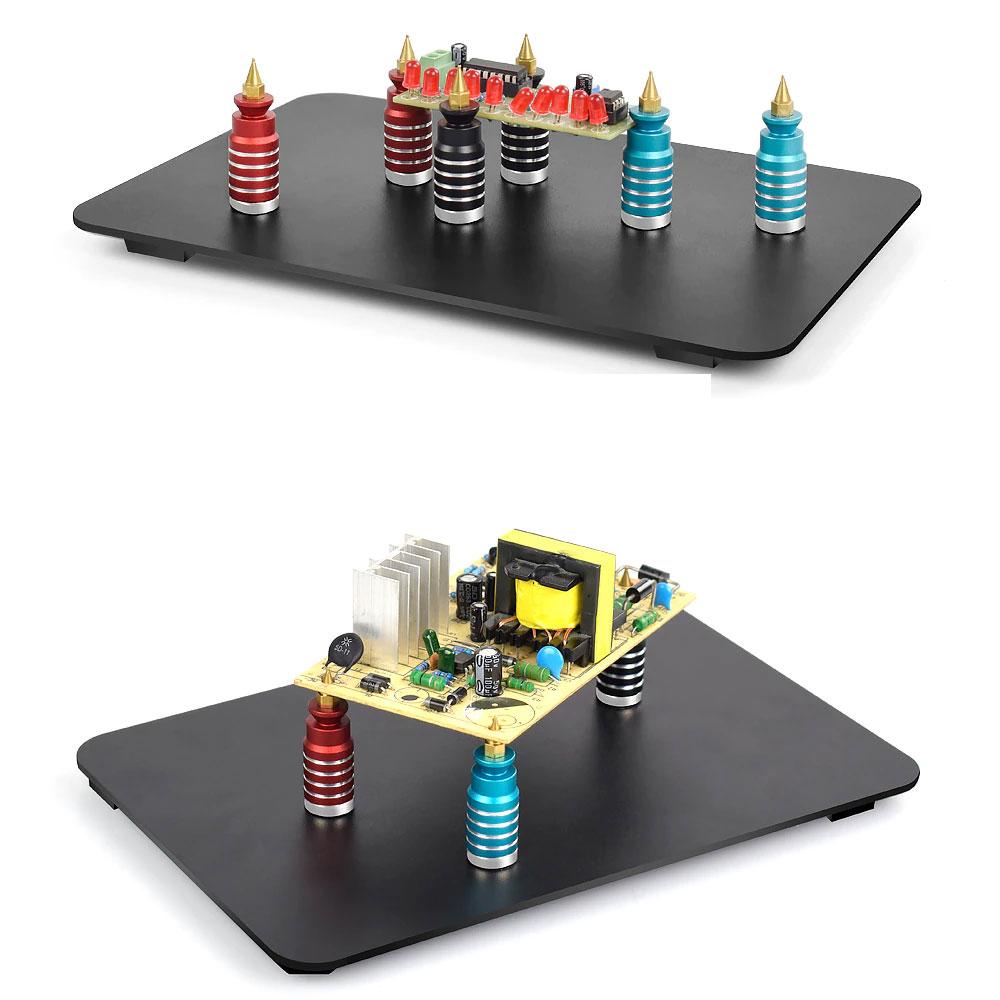 Uchwyt montażowy magnetyczny do PCB x4szt.