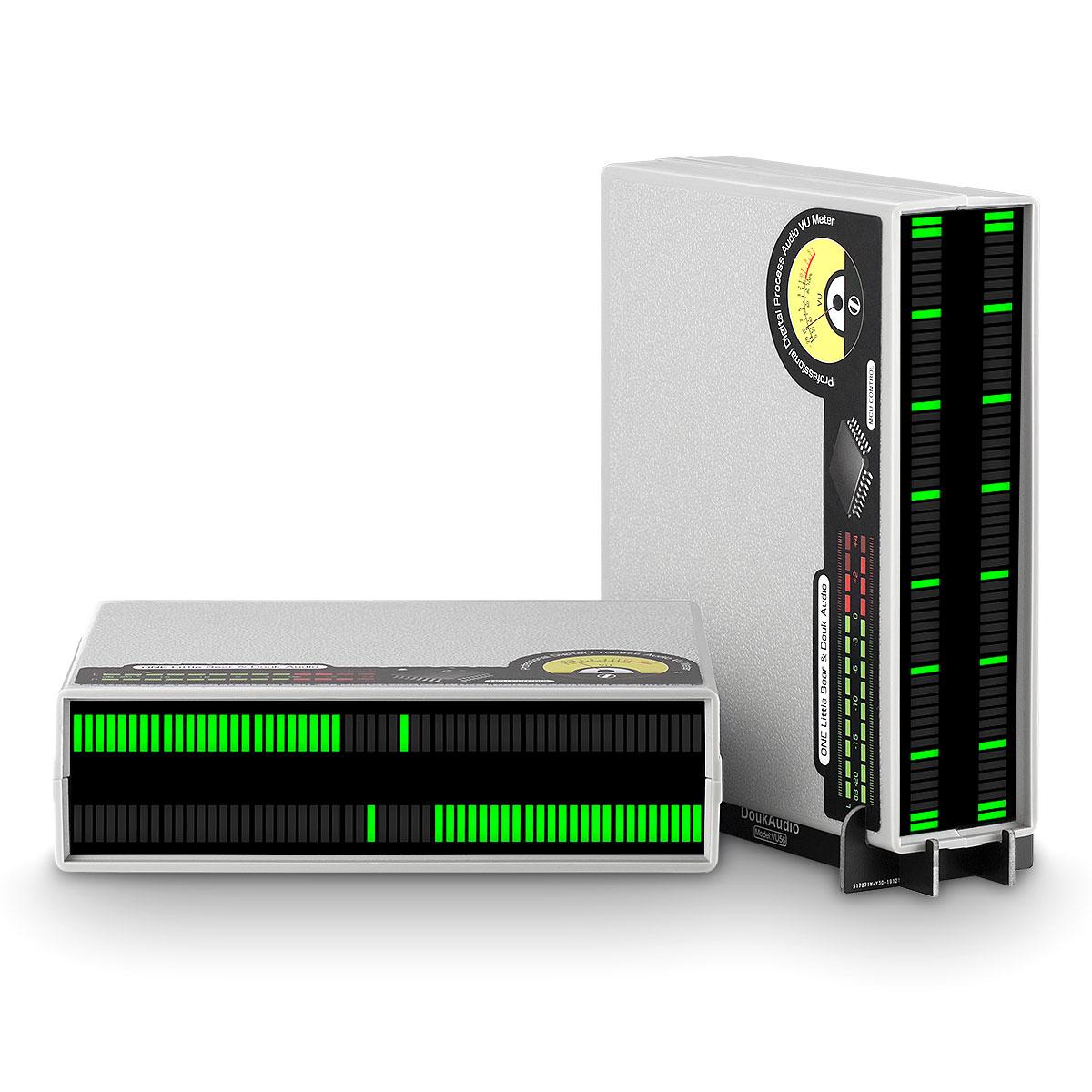 VU meter wskaźnik wysterowania LED audio stereoo