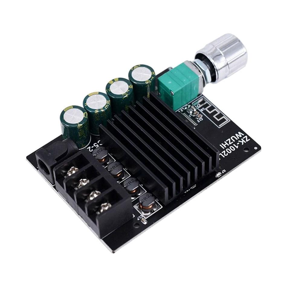 Wzmacniacz audio 2 x 100W TPA3116 + Bluetooth 5.0 Wuzhi ZK-1002L BTE-978 BTE978